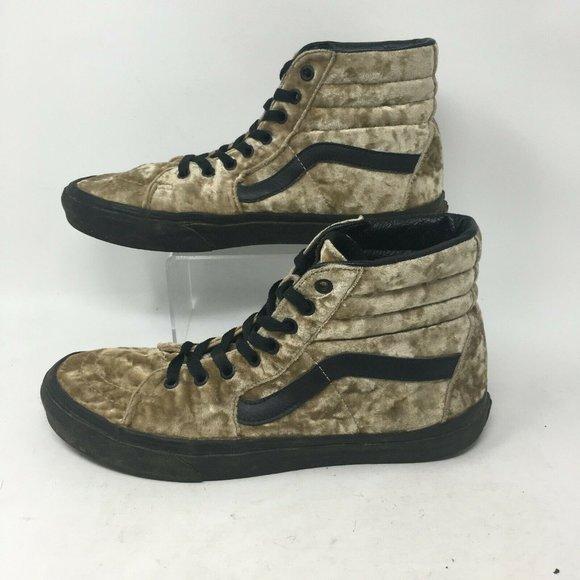 VANS Other - Vans Skateboard Shoe Sneaker High Top Lace Up Velv